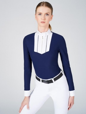 Vestrum Damen Langarm Turniershirt Alkmaar blau
