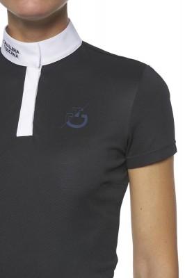 Cavalleria Toscana Damen Turniershirt navy Gr. M