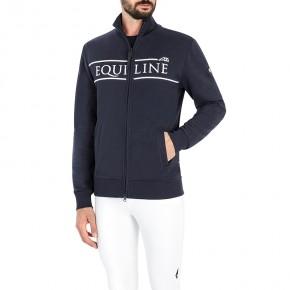Equiline Herren Zip-Sweater Cenzac Navy