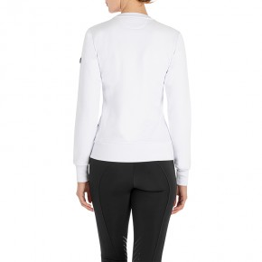 Equiline Damen Pullover Carlac Weiß