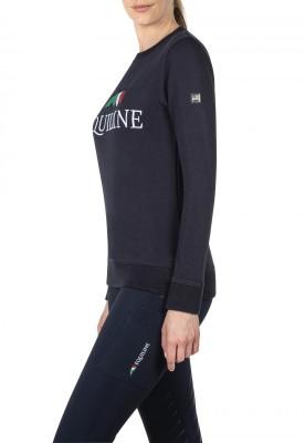 Equiline Team Sweatshirt Pullover Damen navy