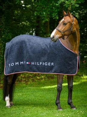 Tommy Hilfiger Equestrian Dralon Cooler Abschwitzdecke Navy